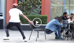chair pulling