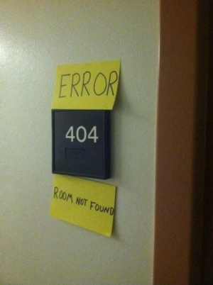 Room not found