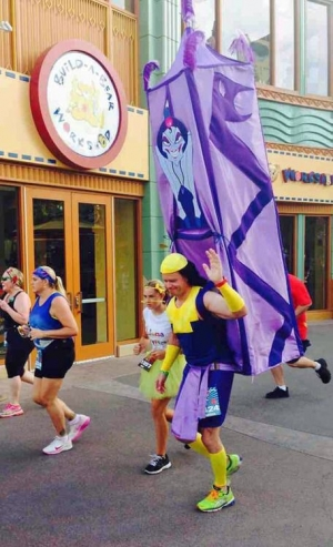 Best costume at Disneyland half marathon